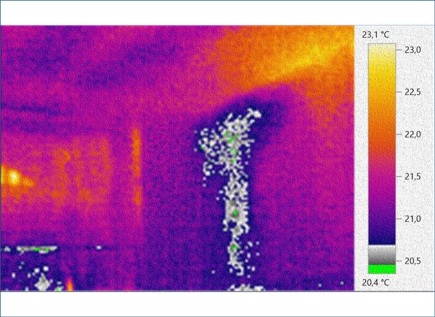 Veduta con strumentazione ad infrarossi