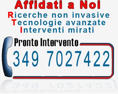 TELEFONO PRONTO INTERVENTO PER: Mappatura Tubazioni, Ricerca infiltrazioni e Perdite d'acqua: cell. +39 3497027422