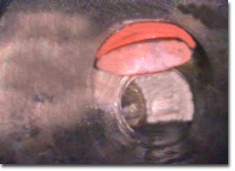 Videoispezione condotta di scarico acque saponate