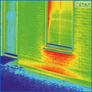 Radiazione infrarossa Finestra al piano terra